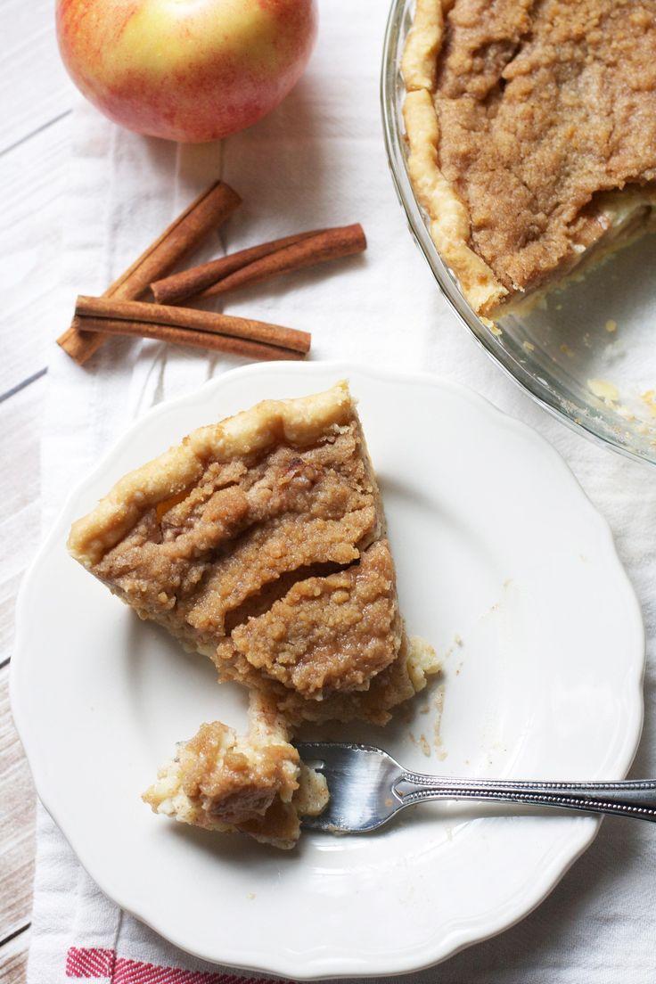 Brown Butter Apple Custard Pie | Food | Pinterest