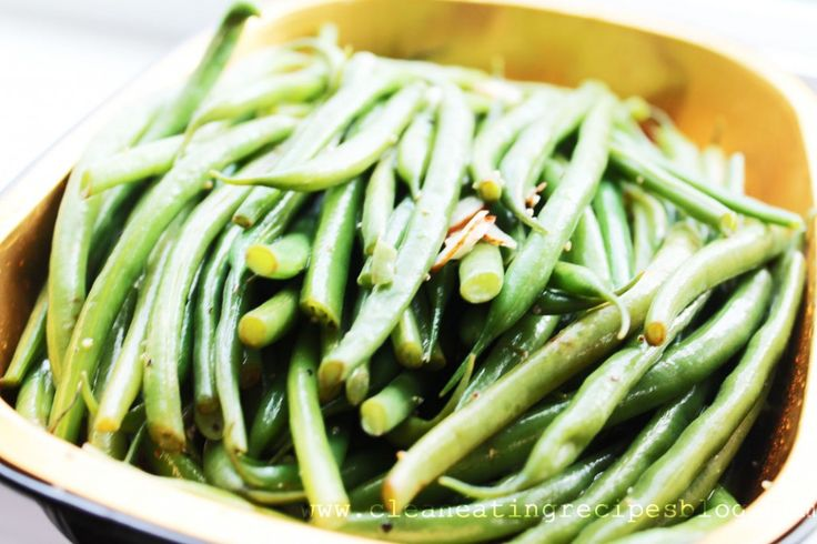 youtube how to clean green beans