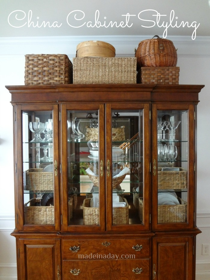 china cabinet styling design home decor ideas pinterest
