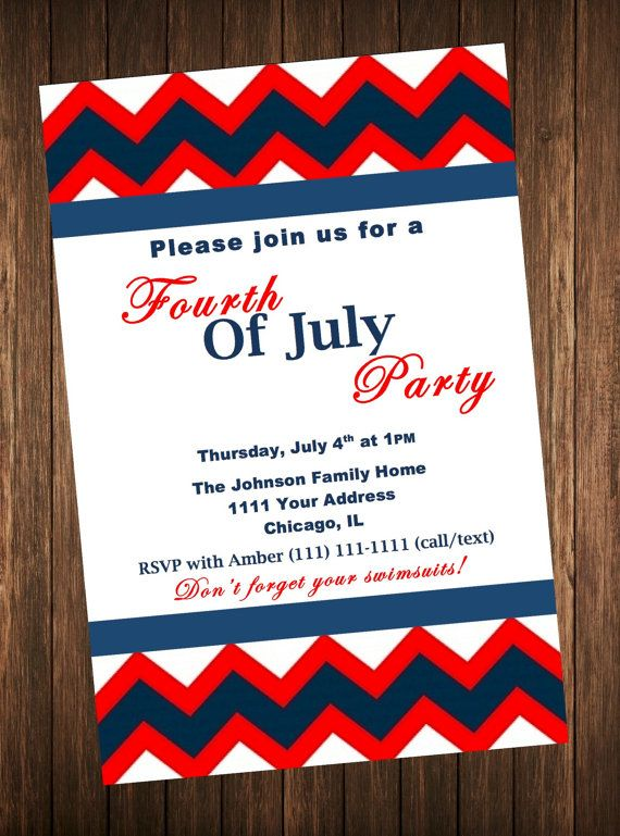 fourth of july bbq party