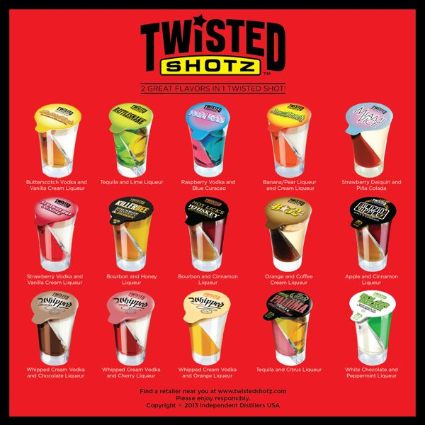 Twisted shotz i need to try them all
