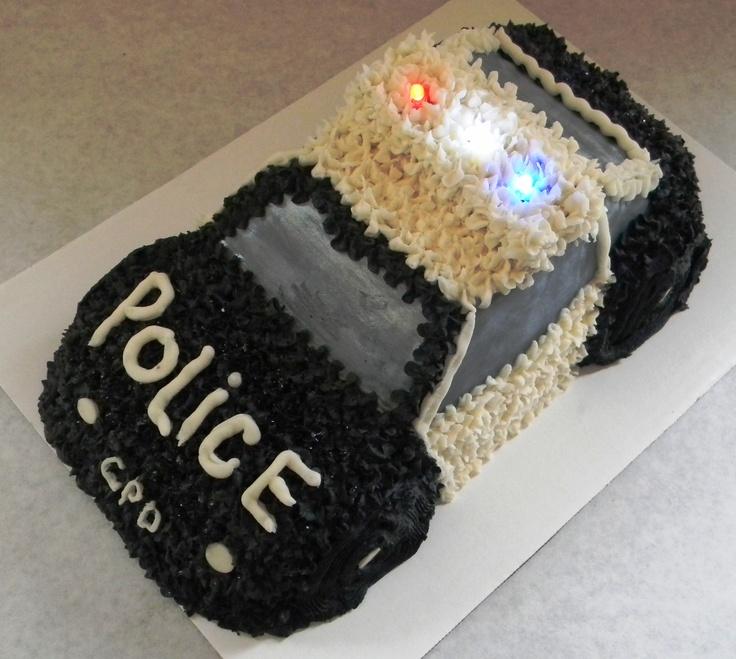 Cake Design For Police : Police Car Cake Cake Ideas and Designs