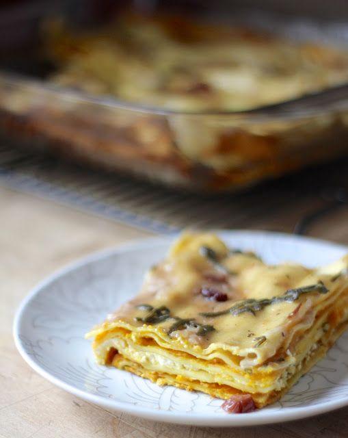Cranberry, Ricotta & Brown Butter Squash Lasagna