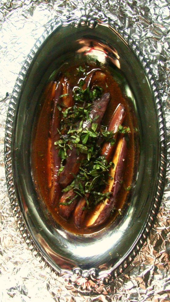 ... Gastronomics] RECIPE: Thai Basil Sauteed Eggplant in Sumac Spice Broth