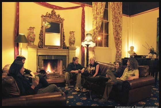 Person Hostel Room Edinburgh