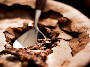 Fallen Chocolate Cake | Recipe
