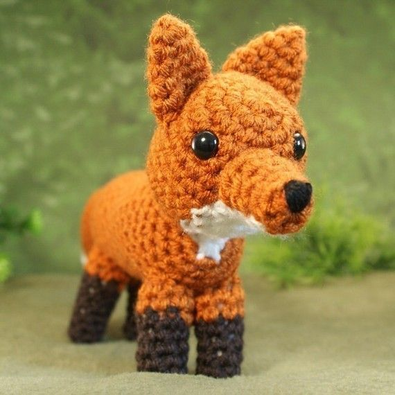 Foxy fox! | Crochet Ideas | Pinterest