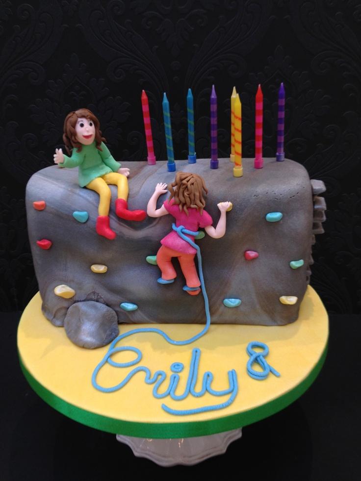 Cake Designs Rock Climbing : Climbing wall cake Cool Cakes London Pinterest