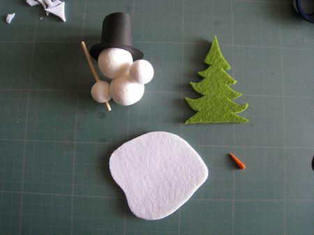 Bonhomme de neige noel diy pinterest - Pinterest bonhomme de neige ...