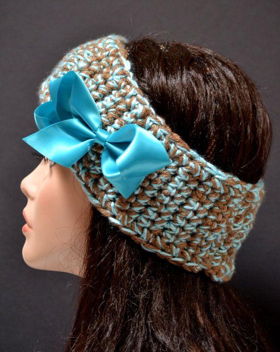 Crochet Hair Bands : Crochet #Crocheted #Hairband #Headband #Earwarmer Crochet Hair Band ...