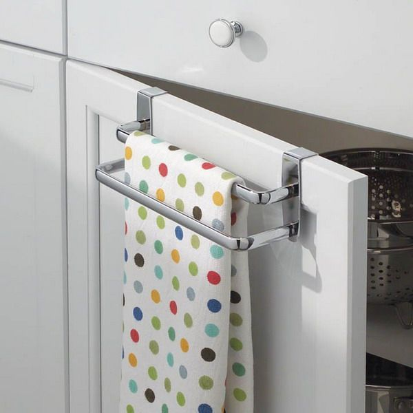 Dish Towel Rack Kitchen Pinterest