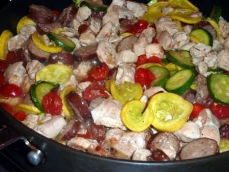 Chicken and Andouille Sausage | Lower Carb | Pinterest