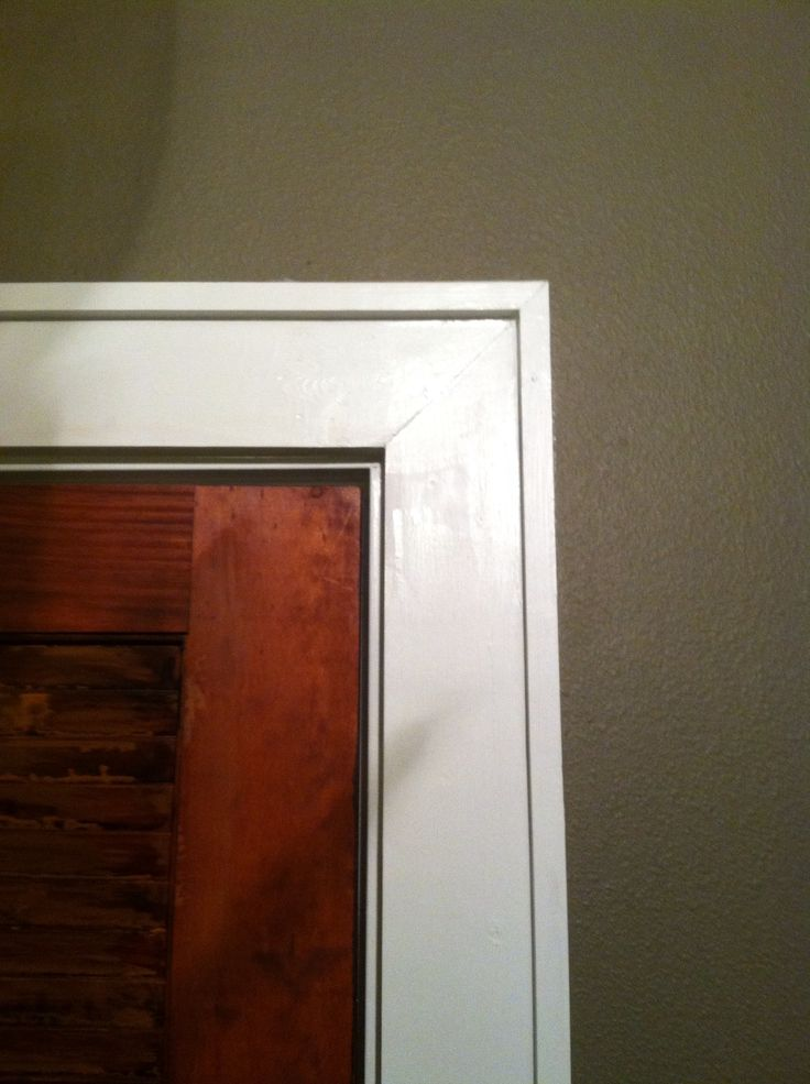 easy door trim dream home pinterest