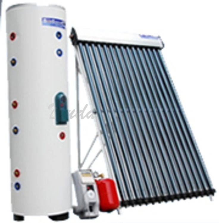 Solar water heater system making my tiny house on wheels - Types of heaters for your home ...