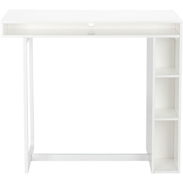 Public White 42 High Dining Table