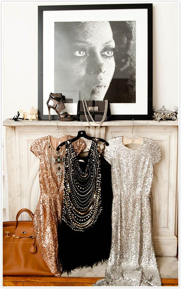 so many things to love about this picture. we'll start with the shimmering dresses   http://thecoveteur.com/Mary_Alice