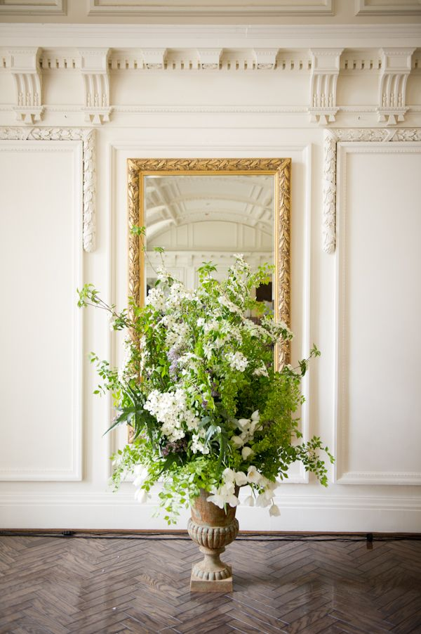 gorgeous greenery arrangement with olive branches. by Connor Studios.