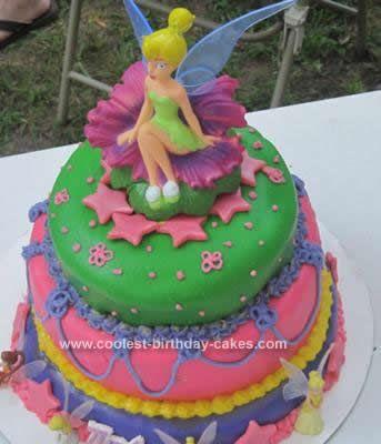tinkerbell cake design