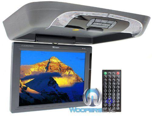 Overhead lcd monitor
