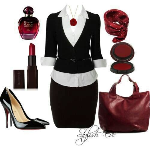 Very MARY KAY (not only do I love Mary Kay - I love this outfit