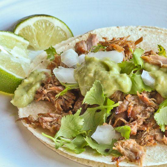 Taqueria Style Guacamole with Tomatillos | Recipe