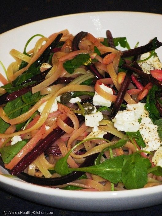 feta beet greens and feta pasta recipe dishmaps greens beet greens and ...