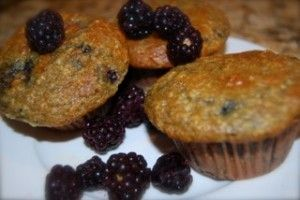 living-healthy-mom-blackberry-coconut-muffin