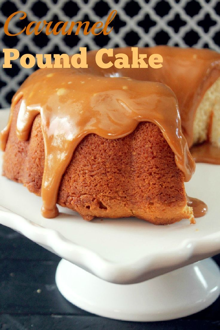 Caramel Pound Cake-Creole Contessa | cake & cupcakes recipe | Pintere ...