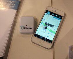 pet tracking collar iphone