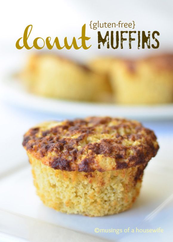 Gluten-Free Powdered Sugar Doughnut Muffins Recipe — Dishmaps