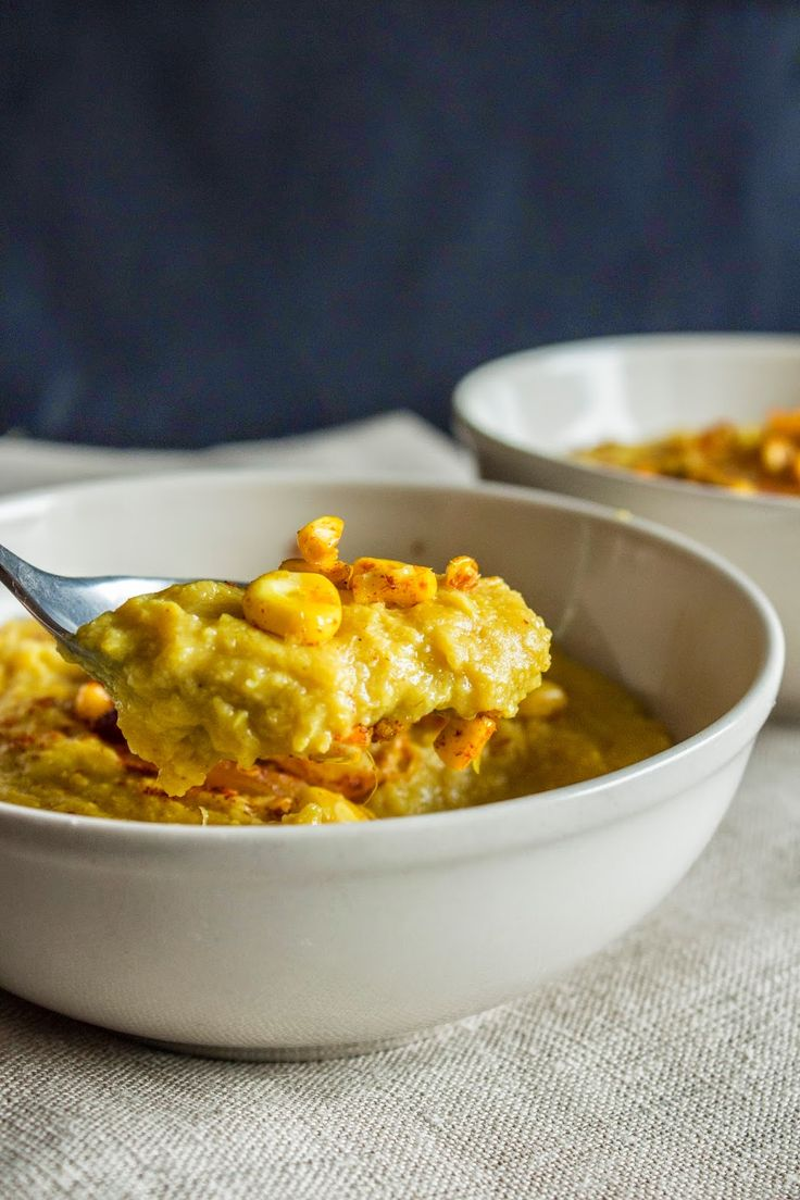 coconut corn soup | european recipes | Pinterest