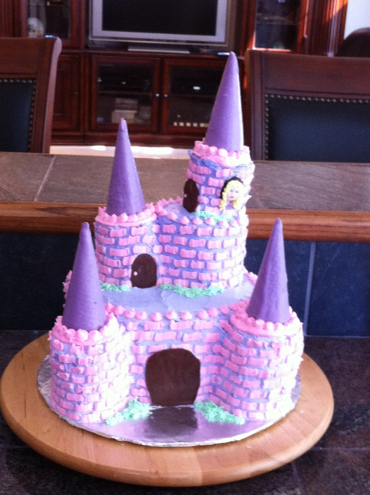 4th birthday cake.  Girls birthday ideas  Pinterest
