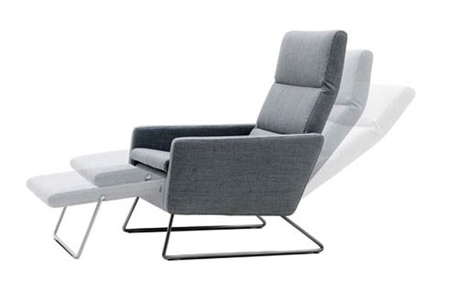Small space solutions 12 cool pieces of convertible furniture - Reclining chairs for small spaces plan ...