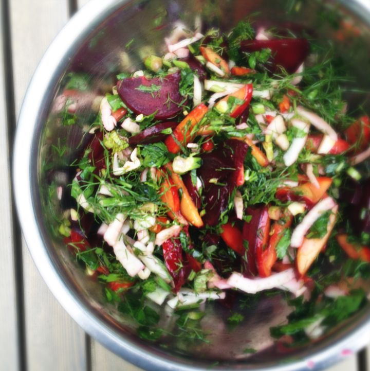 orange salad shaved fennel salad fennel radicchio and endive salad ...