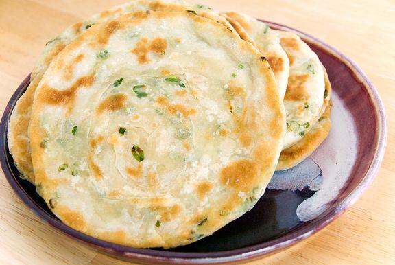 Chinese Scallion Pancakes | Asian Cooking | Pinterest