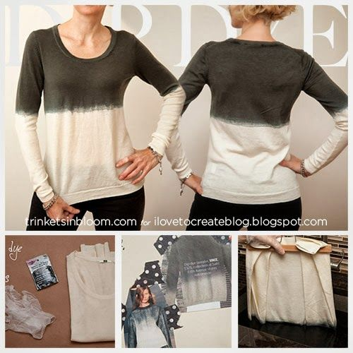 Diy Dip Dye Sweater 38