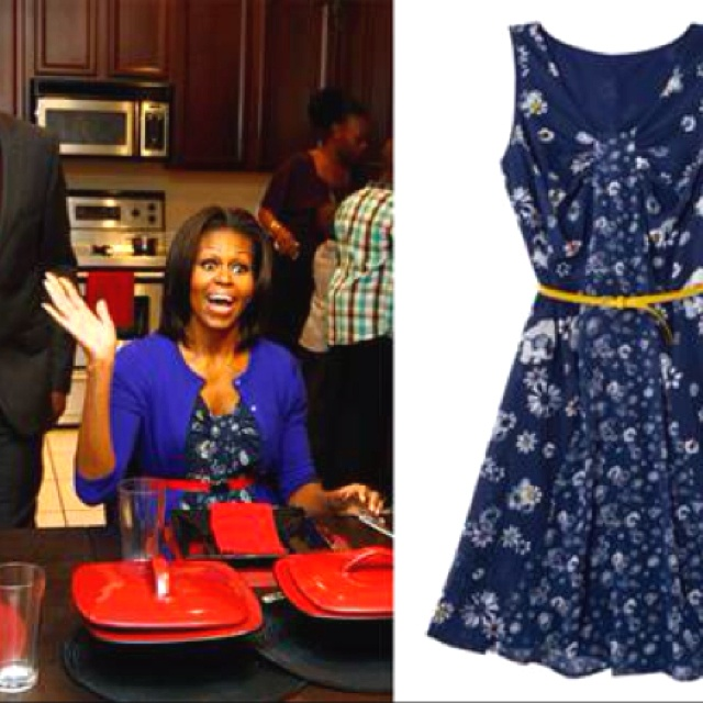 Michelle Obama in a $40 Jason Wu dress from Target!