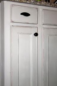 Chalk painted kitchen cabinets paint pinterest