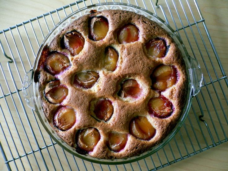 Dorie Greenspan's Dimply Plum Cake | recipe from The Wednesday Chef
