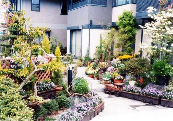 backyard paradise garden tran pods garden how does yours