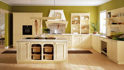 Green country kitchen designs dwelling pinterest for Green country kitchen ideas