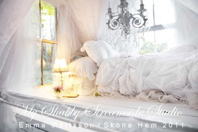 My sleeping loft shot by Emma Mattsson for Skona Hem magazine, October 2010.