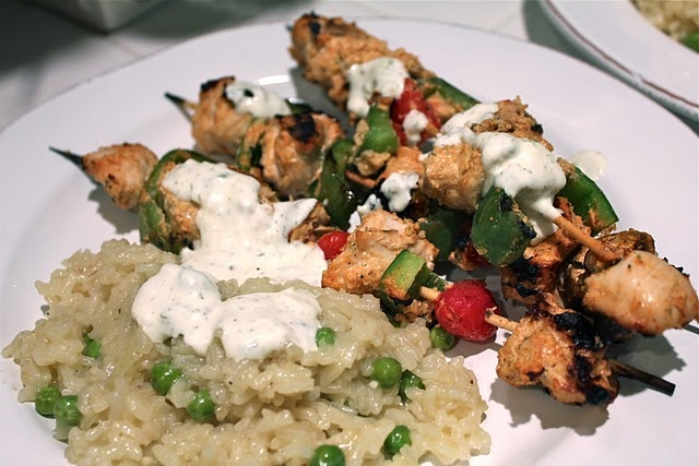 Greek Chicken Kabobs | CHICKEN | Pinterest