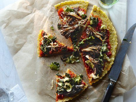 parsley pesto polenta pizzas with kale chard and parsley pesto recipes ...