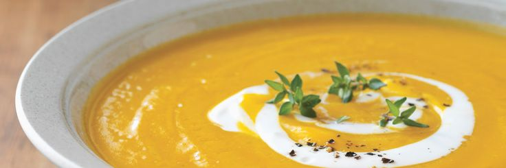 Pumpkin Soup with Gruyère Recipe | Gourmet Recipes | The Fresh Market