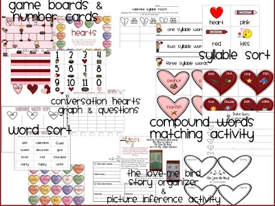 valentine's day math crafts