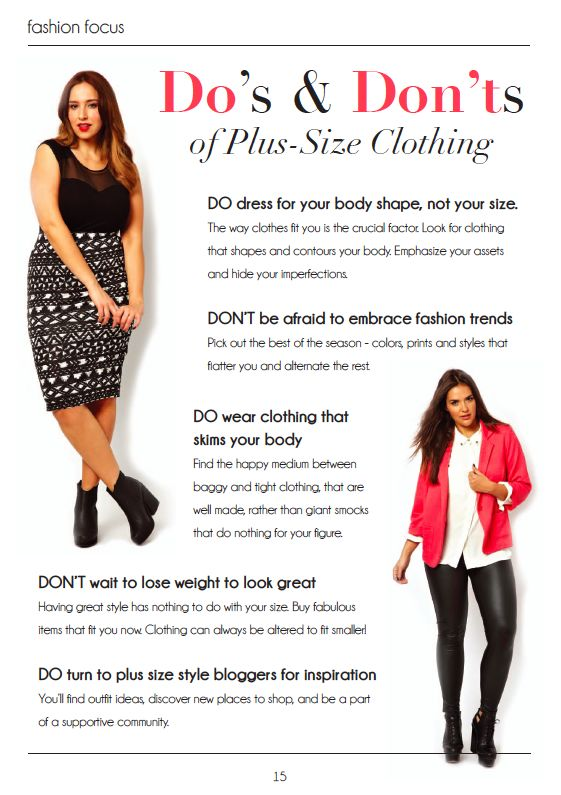 Plus Size Fashion Style Tips And Tricks Plussize Fashion