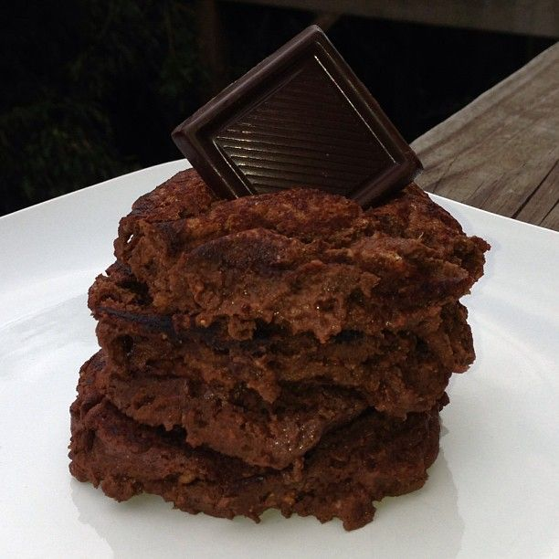 Brownie Batter pancakes | Flap Jacks | Pinterest