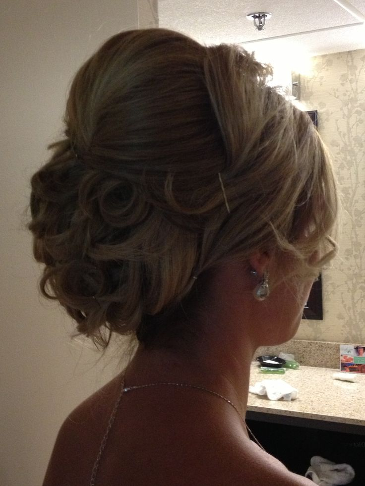 ... for long, thick hair | Bishop/Owens Wedding - Hairstyles | Pinte