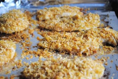 Crispy Ranch Chicken- great alternative to processed chicken tenders ...